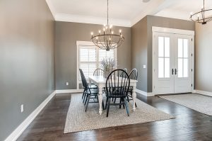 Elegant Dining Room - New Homes being built in Troy Ohio