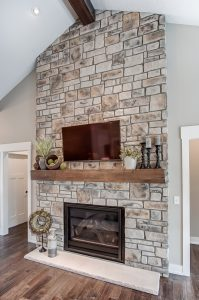 New Home Fireplace