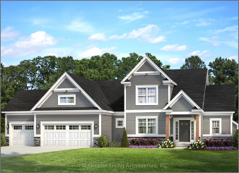 New Homes being built in Troy Ohio: The Burlington