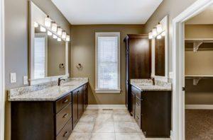 Vanities in Bathroom